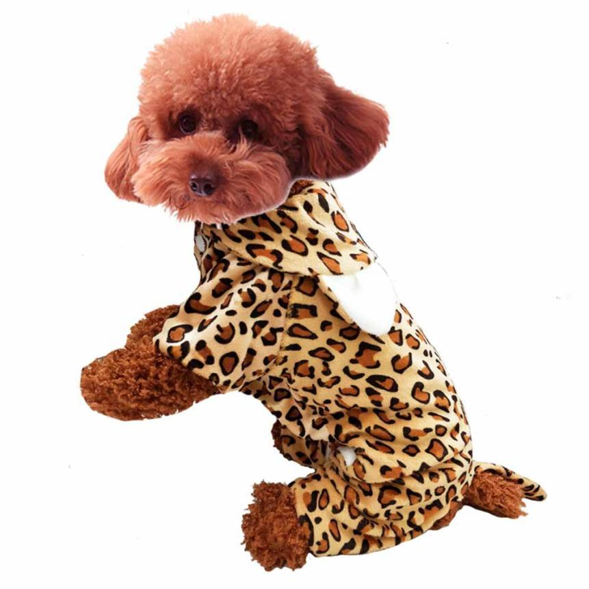 1Pcs Cute Pet Dog Costume clothes for dogs of small breeds clothes for little dogs winter honden kleding #TX4