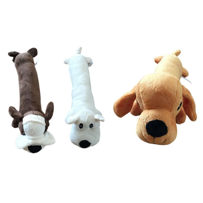 1Pcs Pet Supplies Plush Chewing Cow Dog And Cat Pet Toy For Small Dogs New Chew  Teeth Practice 3 Designs For Puppy Dog