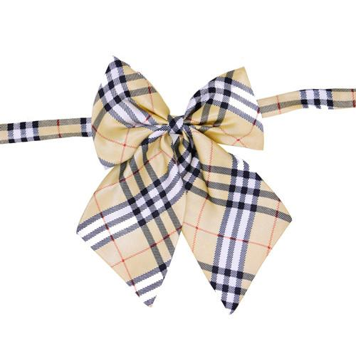1pc Pet Dog Bowties Adjustable Plaid Patterns Bow ties Man Women Bow tie Neckties Pet Suppliers