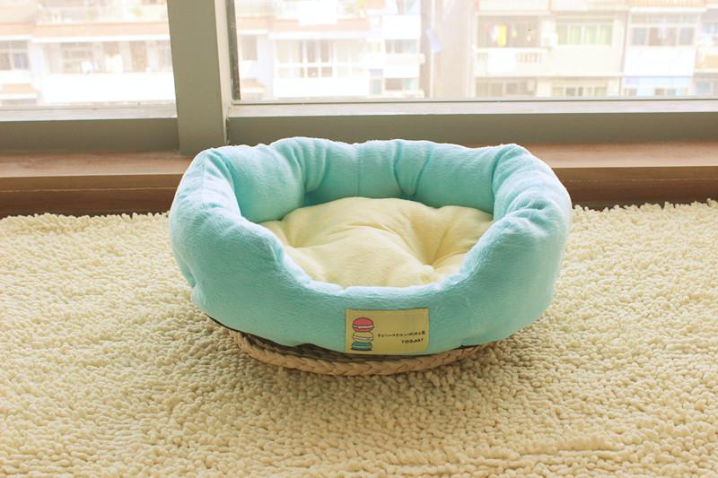 1pcs 53*40 cm Soft Washable Dog Puppy Cat Pet PP Cotton Basket Cushion House winter Pets dog Warm Beds Animal Mats Large Size S2