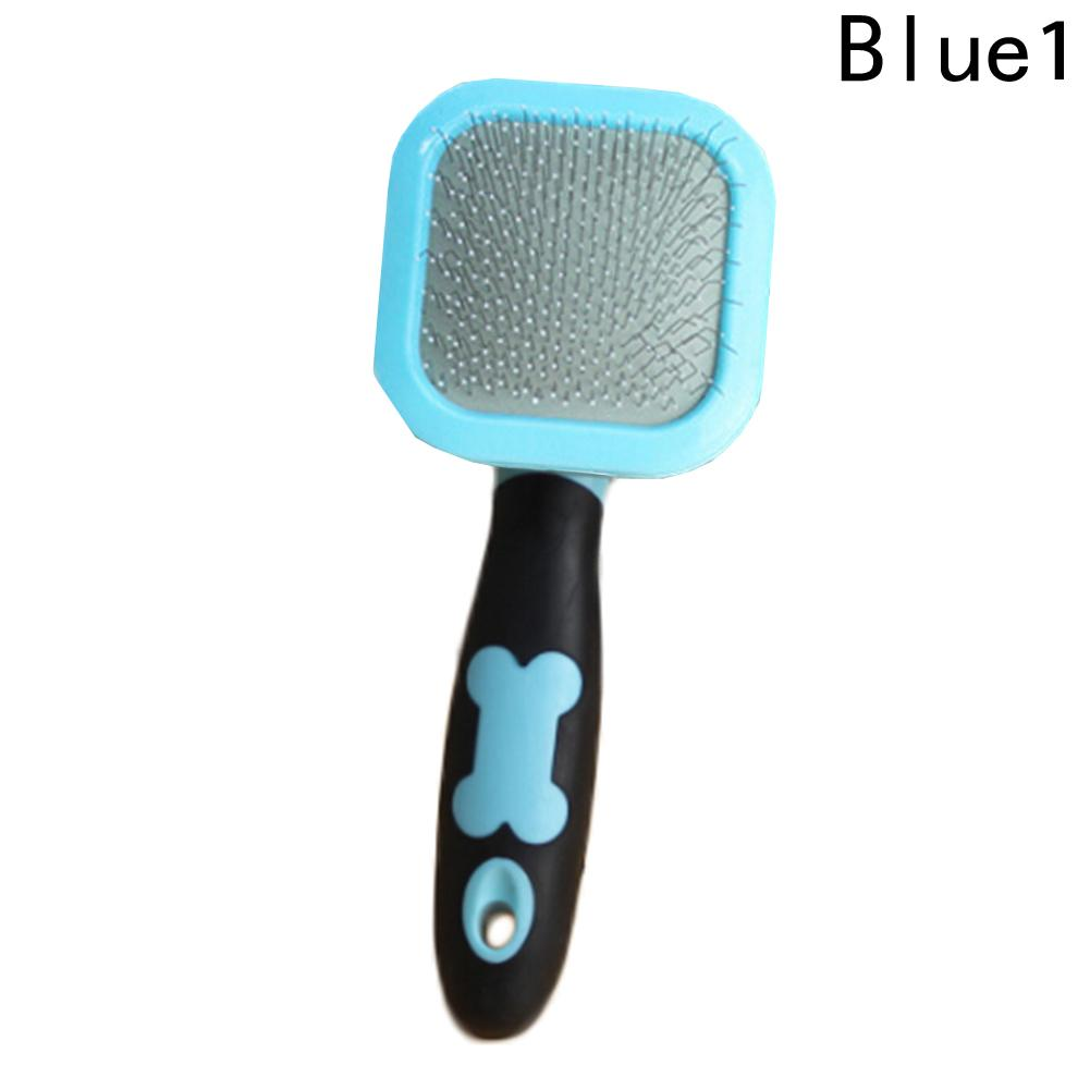 1pcs Pet Dog Cat Hair Gilling Beauty Handle Grooming Slicker Trimmer Comb Brush pet cleaning tools Supplies Product