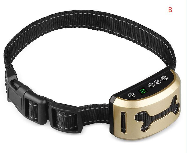 1pcs Pet Dog Waterproof Rechargeable Anti Bark Collar Adjustable Sensitivity Levels Vibration Stop Barking Dog Training Collars,,KeeboVet Veterinary Ultrasound Equipment,KeeboVet Veterinary Ultrasound Equipment.