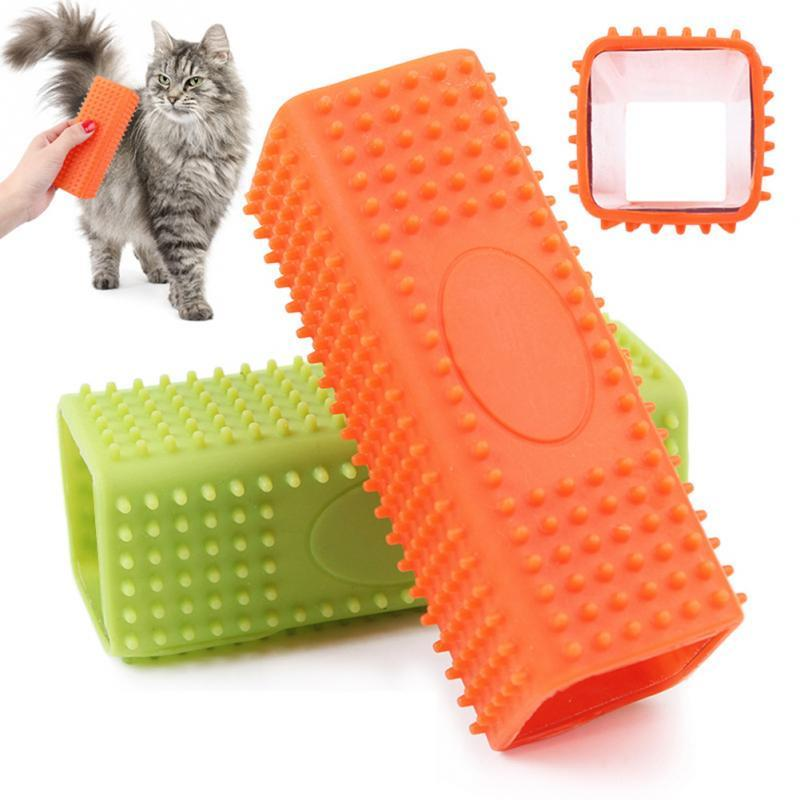 1pcs Pet Hair Cleanup Tools Easy To Clean Up Animals Hair Cats and Dogs Hair Removal Brush