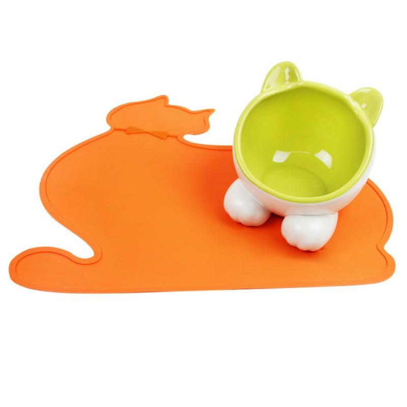 Dog Training Placemat: 1pcs Silicone Pet Pads Supplies Pet Dog Puppy Cat Feeding