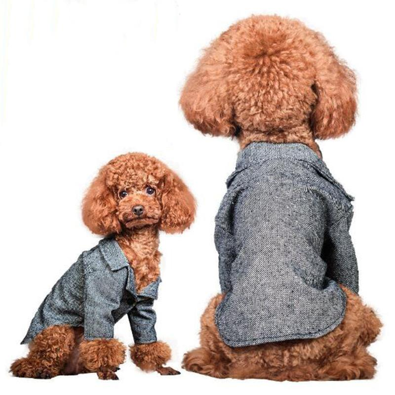 1pcs pet dog cat cool fashion jacket doggy wedding suit costume puppy overcoat clothing dogs cats coats apparel pet outwear