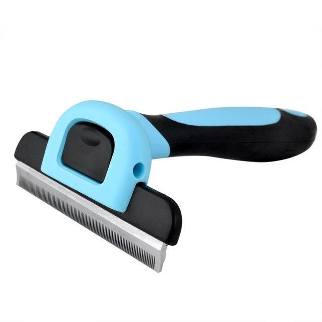 2 Color Pet Hair Shedding Comb Trimmer Dog Cats Hair Grooming Comb Pet Hair Clipper Comb