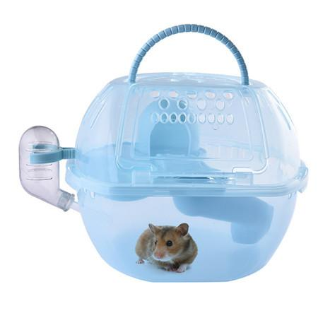 2 Floors Storey Pet Hamster House Squirrel Home Gerbil Chalet Mice Hamster Cage Pet Supplies with water bottle