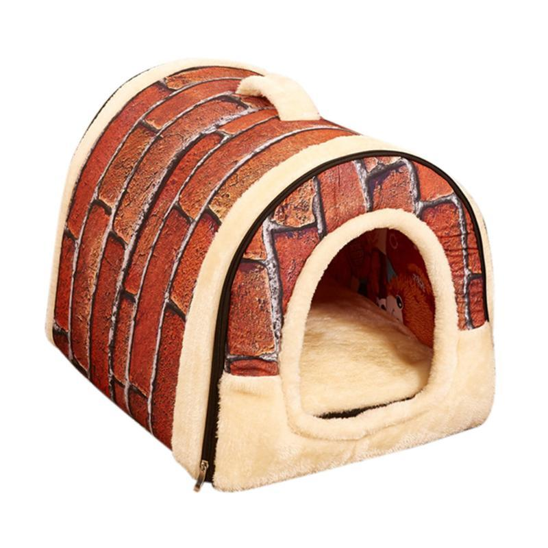 2 In 1 Foldable Pets Beds Nest House Winter Warm Dog House with Mat Portable Travel Cat Sleeping Bed Puppy Hamster Pad S/M/L,,KeeboVet Veterinary Ultrasound Equipment,KeeboVet Veterinary Ultrasound Equipment.