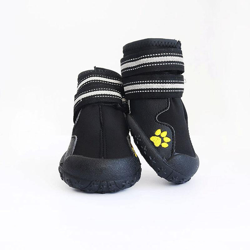 2 Pair Pet Outdoor Rain Boots Large Dog Shoes Non Slip Running Sneakers Waterpoof Boot Pets Accessories TB Sale