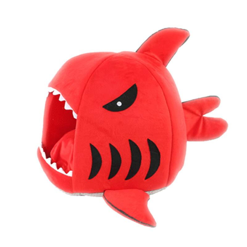 2 Size 4 Colors Shark Mouse Shape Pet Cat Dog Bed Soft Warm Cute Dog House Pets Sleeping Bag Cat Kennel For Small Puppy Dogs