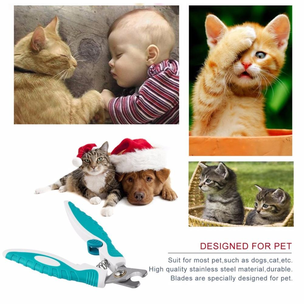 2 Sizes Stainless Steel Pet Spring Nail Clipper Animal Dog Cats Grooming Trimmer Nail Scissors Toe Claw Nail Cutter Pet Supply