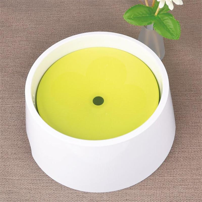 2 in 1 Anti-Spill No Spill Dripless Water Food Bowl Puppy Pet cat water feeder Splash proof water dish bowl drop shipping