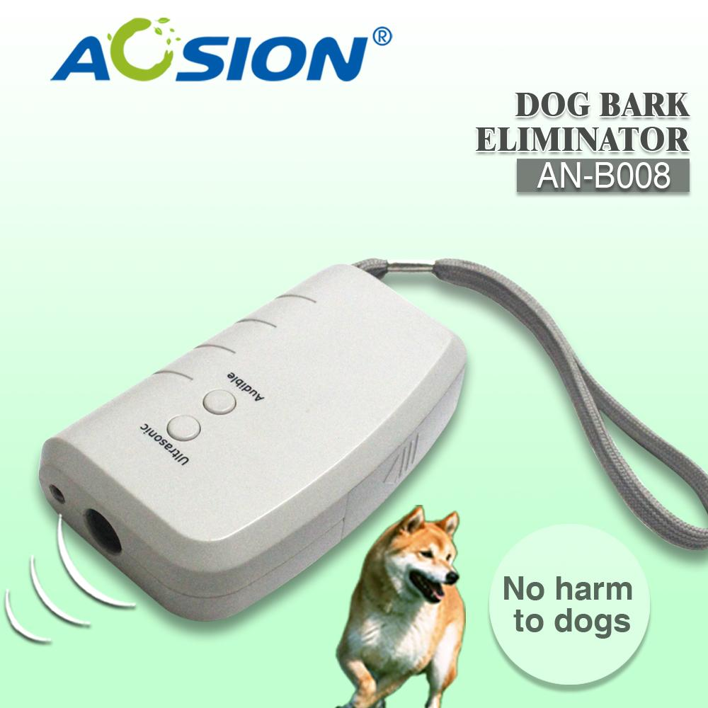 2 piece Aosion 3 in 1 Stop Bark Ultrasonic Dog Repellent Anti Barking Pet  Training Device with LED Light