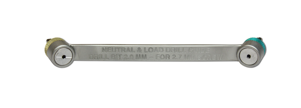 Orthopedic Neutral And Load Drill Guide - VET EQUIPMENT