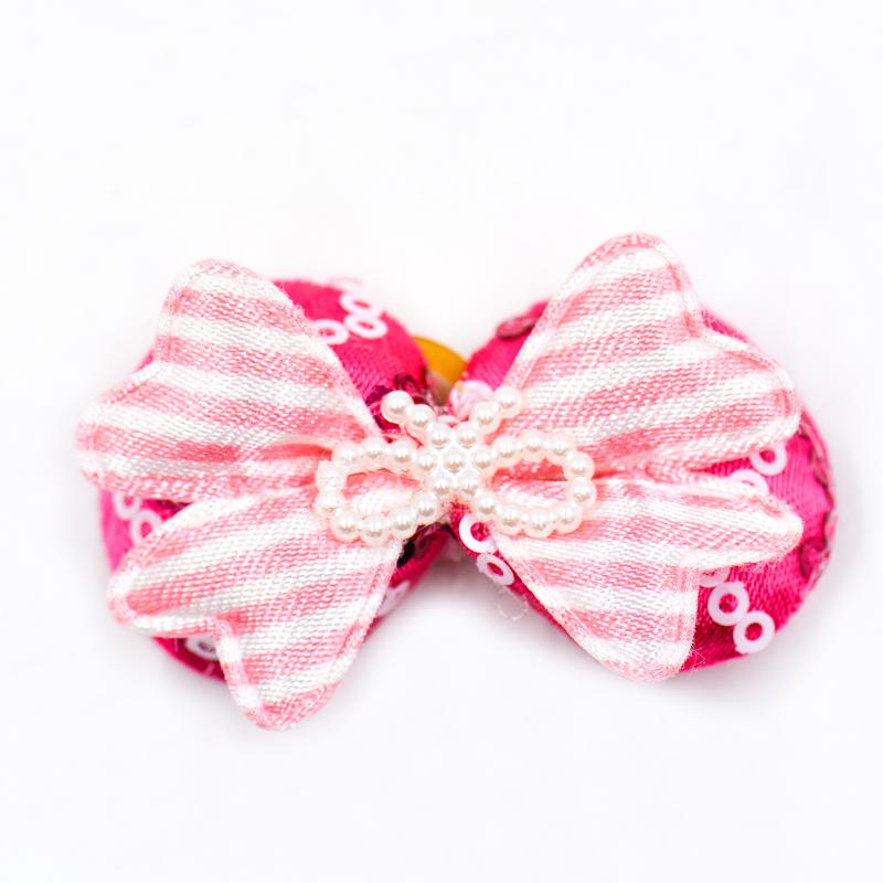 20/50/100pcs/lots Handmade Dog Grooming Bows Ties Dog Hair Accessories Pet Hair Tie Dog Bowknot Supplies Mix Styles Multi Colors