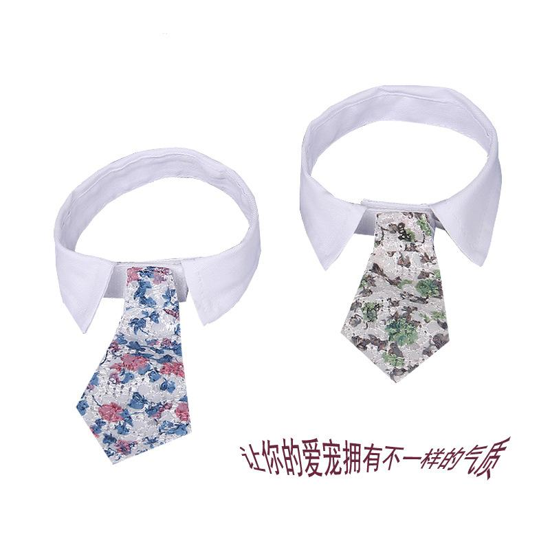 20 Pcs/Lot  Dog Bow Tie Dogs Festival Tie  Pet Accessories  dog supplies embroidery  tie  cat  accessories