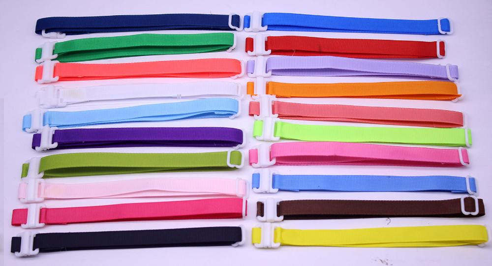 200PC/Lot Adjustable Ribbon Dog Ties Collars Pet Dog Neckties Bowties Collars Accessories Pet Supplies 20-42CM*1CM