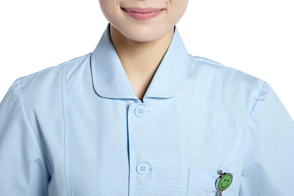 2015 OEM nurse uniform hospital uniform workwear hospital clothes physician services long coat plus size hot sale