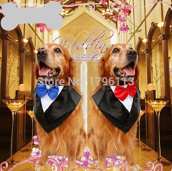 2015 new large dog fashion neckties big dogs Wedding tuxedobibs bandage accessories pet bowknot ties supplies pets bowties 1pcs