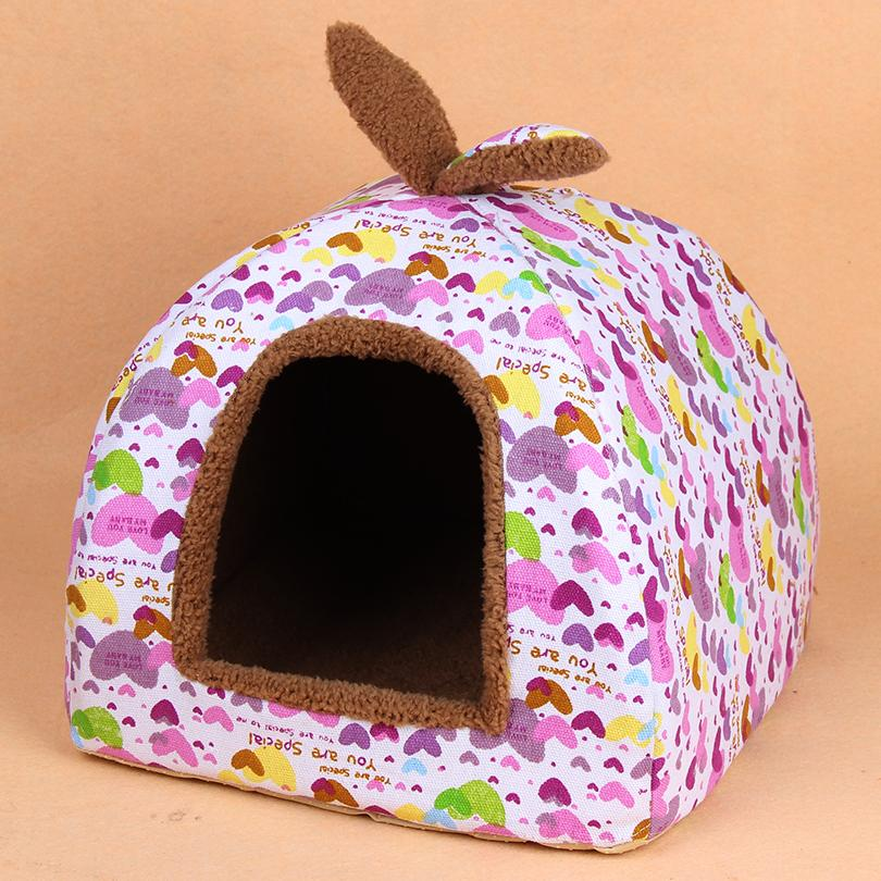 2015 new pet dog cat fashion kennels doggy warm soft house puppy autumn winter bed dogs cats litter pets products 1pcs S M L
