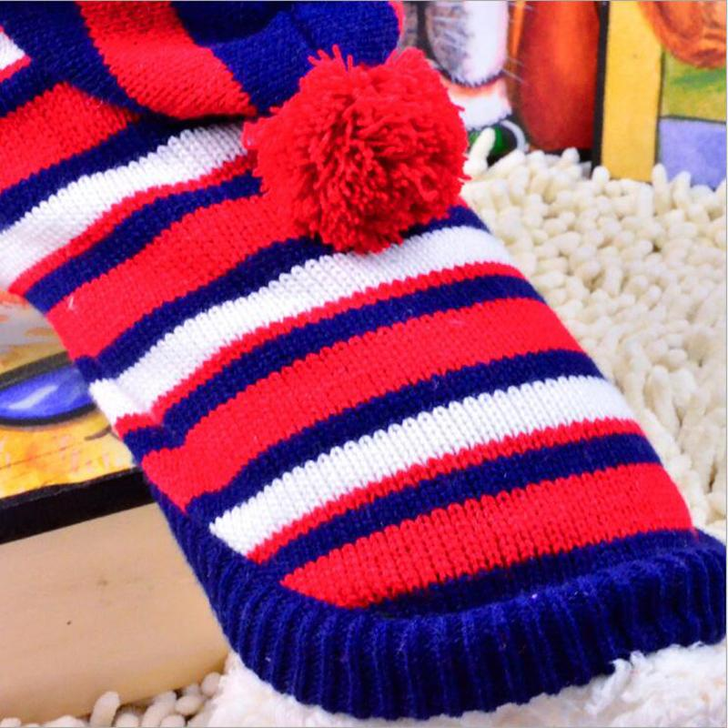 2016 Autumn Winter New Style Pets Clothes 4sizes Yellow/ Red Fancybaby Warm Sweater Pet Clothes With Hat Cute dog clothes