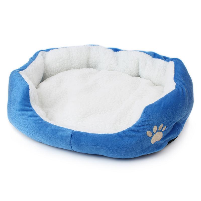 2016 New Arrival Cute Soft Pets Dog House Puppy Cat Rabbit Doggy Mats Dog Bed 6 Colors Colorful Warm Free Shipping Dog Kennel