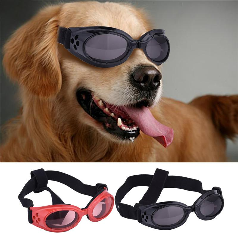 2016 New Desin Dog Sunglasses Windproof UV Protection Goggles Pets Dogs Puppy Eyewear Sun Glasses