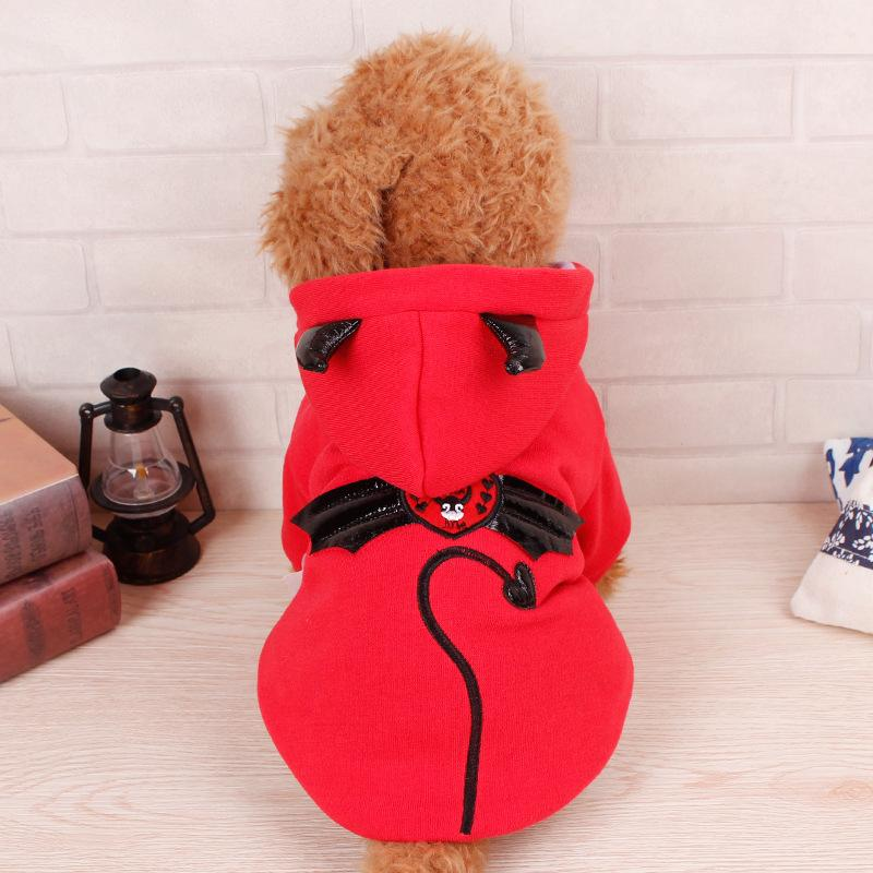 2016 New Hooded Sweater Autumn And Winter Dog Clothes Pet Clothing Large Or Small Size Dog Coat And Jackets Overcoat Apparel