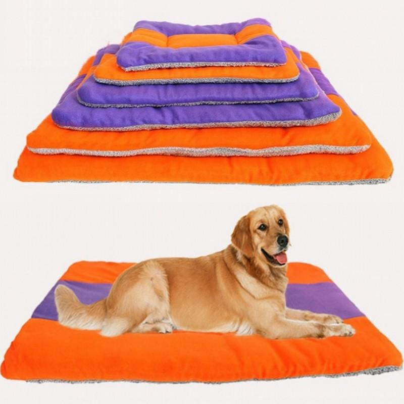 2016 New Large Dog Bed Kennel Pet Mat 6 Size Options Warm Winter House For Puppy Cat Pad Pet Nest Dog Furniture Free Shipping