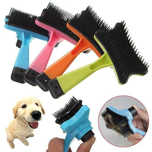 2016 New Pet Dog Cat Hair Fur Shedding Trimmer Grooming Rake Professional Comb Brush Tool