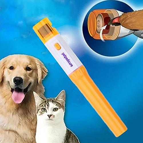 2016 New Pet Dog Cat Nail Trimmer Grinder Grooming Electric Manicure Pedicure File Kit 08WG