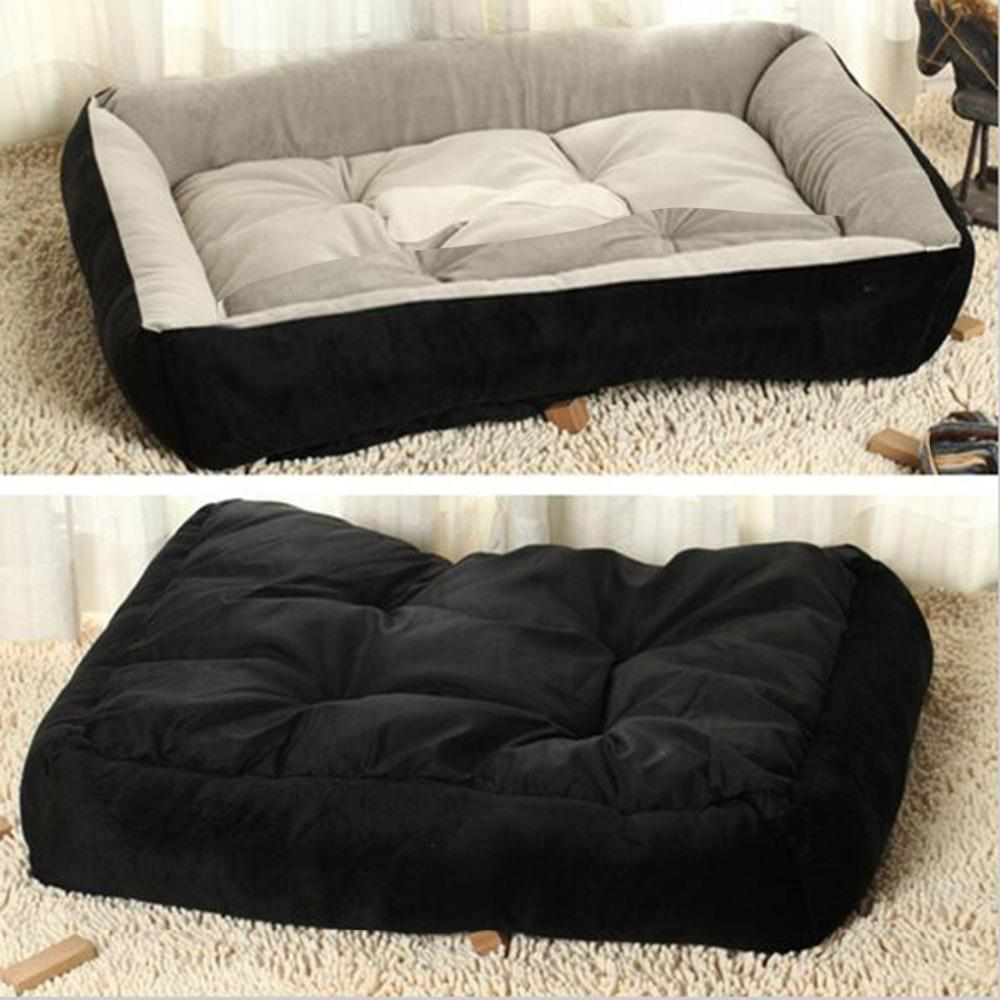 2016 New Styal 6 Size Home Pet Comfortable Sofa Dog Bed House Home Kennel for Large Dogs Pet Blanket Cushion Basket Sleeping