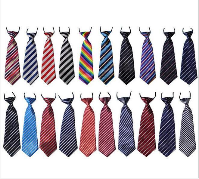 2016 New arrive 50PC/Lot Stripes Large Dog Neckties Mix style large ties For Big Pet Dogs Ties Grooming Bow Ties Dog Supplies