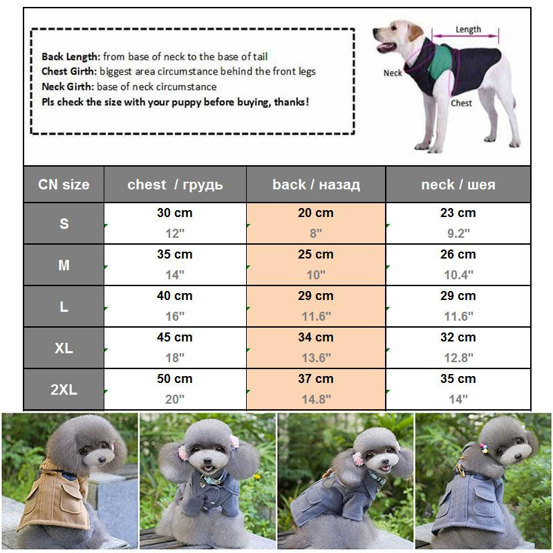 2016 Simple and Fashion Design Dog Clothes Winter Pet Apparel for Dogs Chihuahua Yorkshire Terriers Coat Jacket Pet Costume