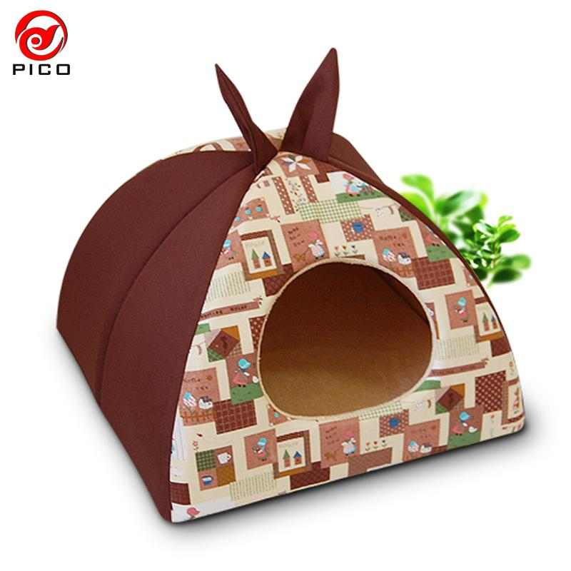 2016 fashion Winter warm pet dog House cat mat cartoon Rabbit Design dog bed for lage dogs small dog Kennel sofa ZL94