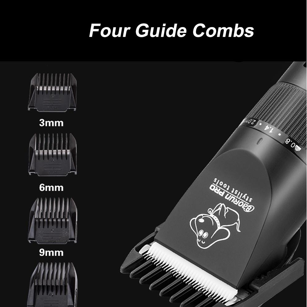 2017 20W High Power Professional Dog Hair Trimmer Grooming Pets Animals Cat High Quality Clipper Pets Haircut Shaver Machine