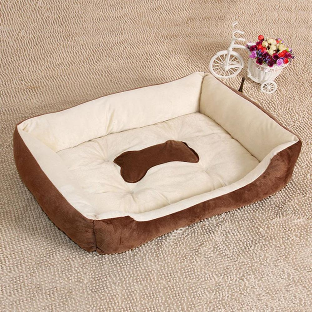 2017 Autumn Winter Pets Dog Bed Warming Plush Dog House High Elastic PP Cotton Pet Nest Dog Warm Nest For Cat Puppy Pet Supplies