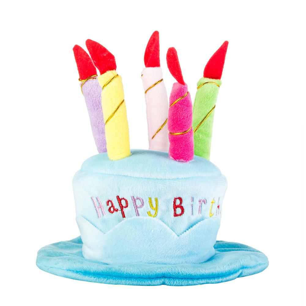 2017 Birthday Accessories Pet Dog Accessories Dog Hat Cake Personality Pet Dog Hat Pet Supply