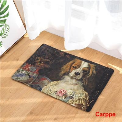 2017  Dog People  Print Carpets Non-slip Kitchen Rugs for Home Living Room Floor Mats 40x60cm