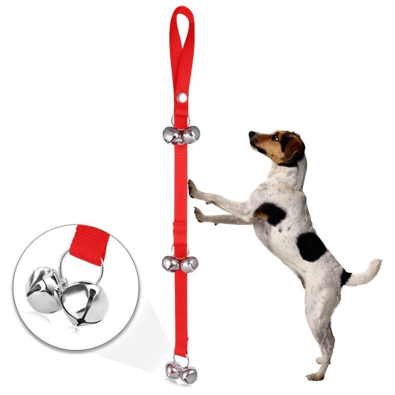 2017 Dog Training Door Bells/House training Doorbells  Large Loud Doggy Bells Easy For Training  Adjustable Convenient Style
