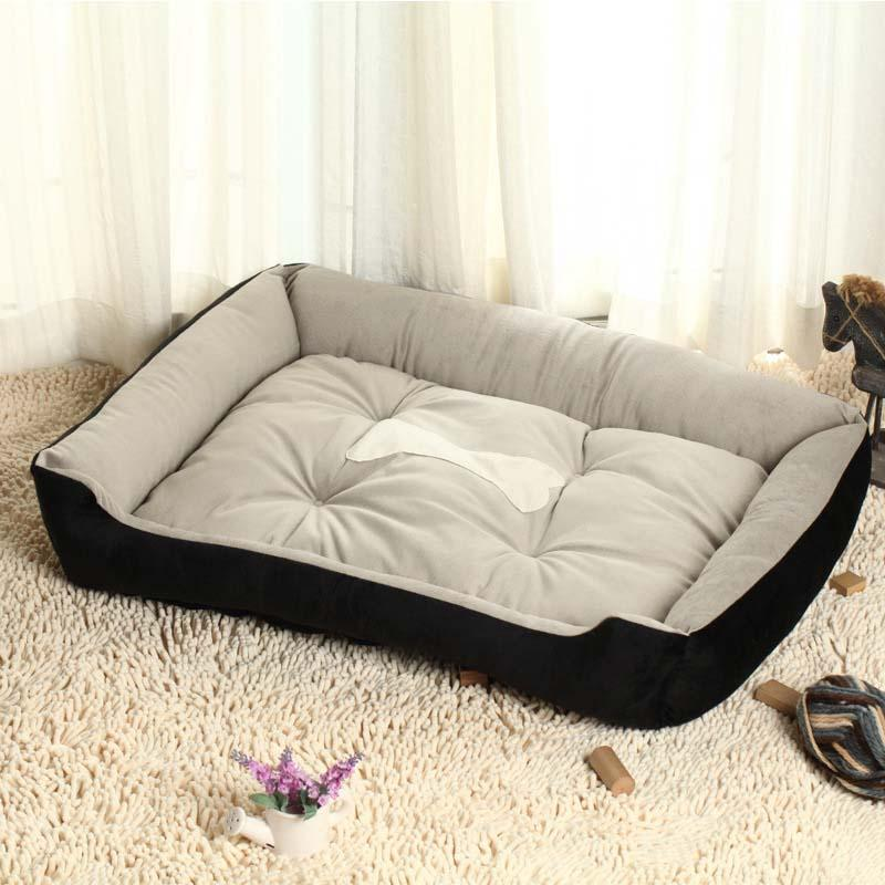 2017 HOT Comfortable Warm Sofa Dog Bed House Home Kennel for Large and Small Dogs Plush Cozy Nest Dog House Pad Warm Pet House