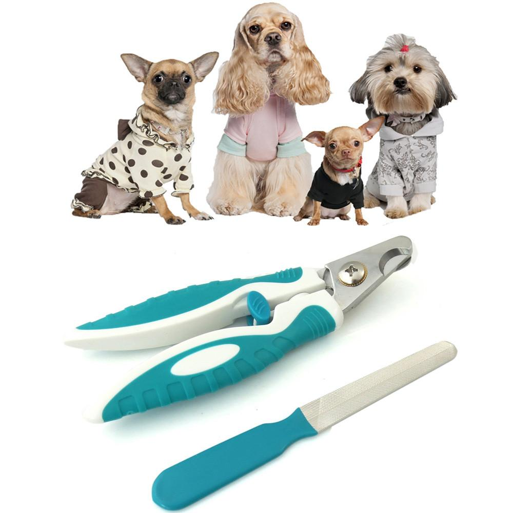 2017 Hot Fashion   Stainless Steel Guillotine Claw Nail Clippers For Dogs Grooming Cutter Trimmer  Hot 2017 Jun30