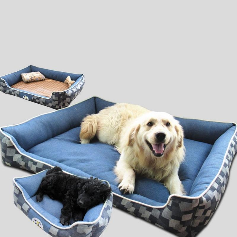 2017 Hot Sale 1pc Pet Products Warm Soft Cat House Pet Sleeping Bag Lovely Pet Bedding Washable Dog Kennel Pet Bed Size M/L