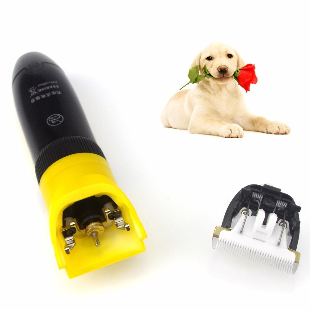 2017 LILI 295 Pet Dog Hair Trimmer Electric Dog Pet Hair Shaver Trimmer Scissors Animals Grooming Clippers 110-240V AC