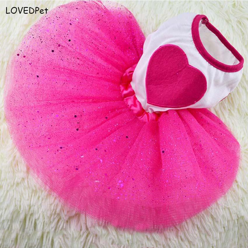 2017 Luxury wedding clothes for dogs summer dresses for Chihuahua dog dress pink clothes for little dogs girl wholesale XS,S,M,L