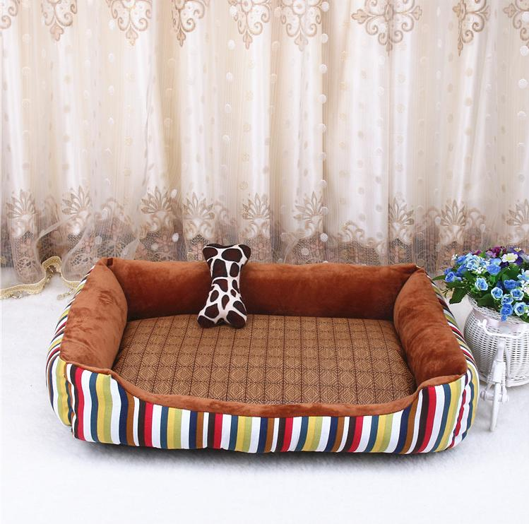 2017 New Big Size Large Dog Bed Mat Soft Fleece Kennel Pet Dog Cama Puppy Cat Warm Bed House Cozy Dog House Pad 331