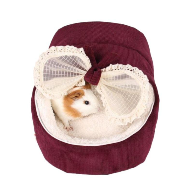 2017 New Cute Pet Cat Dog Princess Bed Nest Small Dogs Warm House Kennel Dog Bed