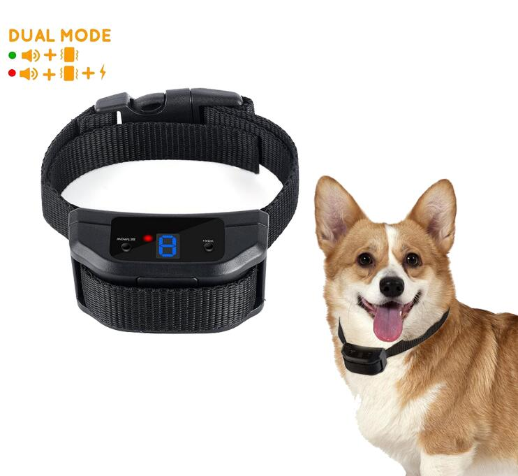 2017 New Diving Rechargeable Remote Control Dog Anti-Barking Dog Training Collar Waterproof IP7 800M Remote Range Dog Collar For 1 Dog