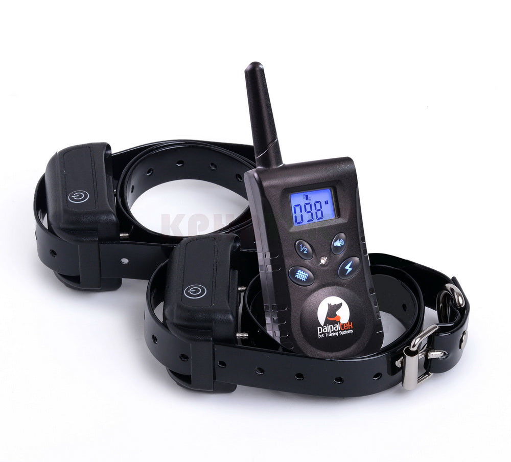 2017 New Dog Training Collar with Backlight Screen and key Controler Waterproof receiver collar suit to Dog Swimming KPHR 520S