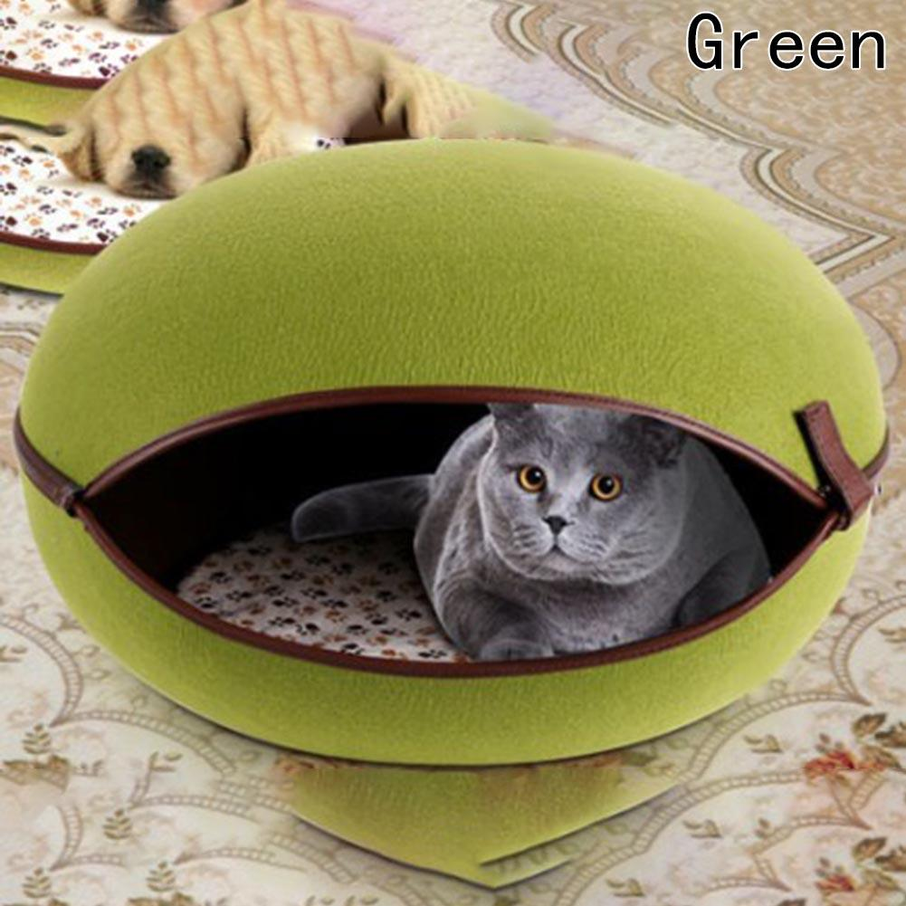 2017 New Egg Shape Dog Beds Warm Soft Dog House Pet Sleeping Bag Dog Kennel Beds For Cat House Nest Mat Pet Products